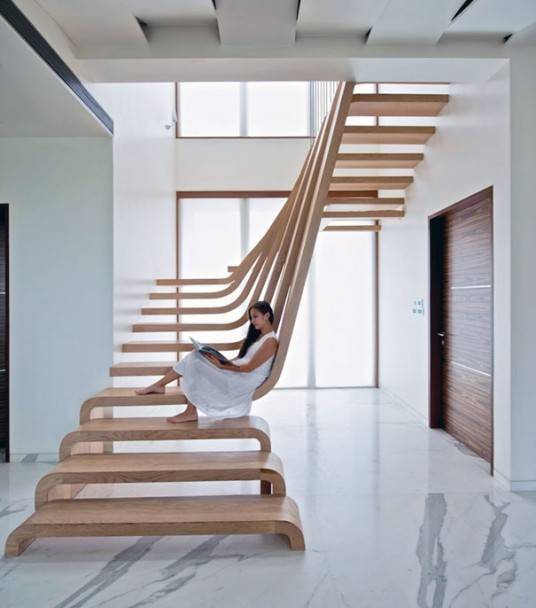 Modern Staircase Designs That Will Make Climbing Up Less