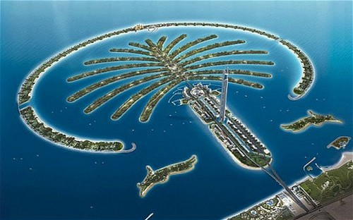 Palm artificial Islands