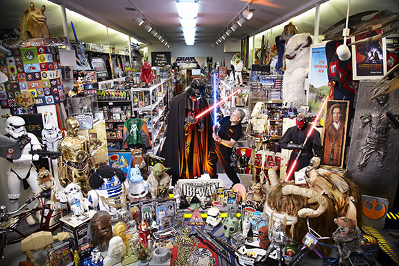 Check out the world s largest collection of star wars for Star wars museum california