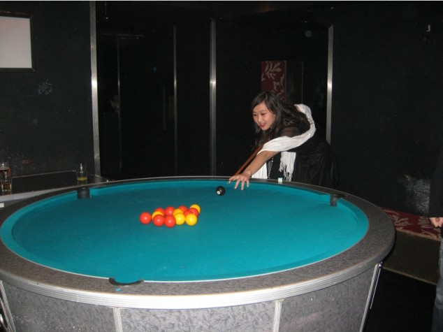 Oddly Shaped Pool Tables That Are Fun To Play On Wow Amazing - Pool table no pockets