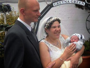 Couple Blessed With Child After Wife Give Births Hours before Wedding