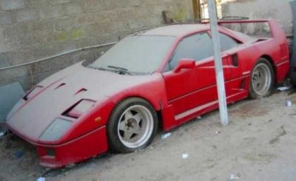 27 Photos Of Discarded Supercars In Dubai Wow Amazing