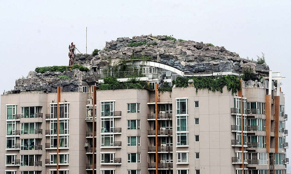 Insane Mountain Home Built On Top Of Apartment Building