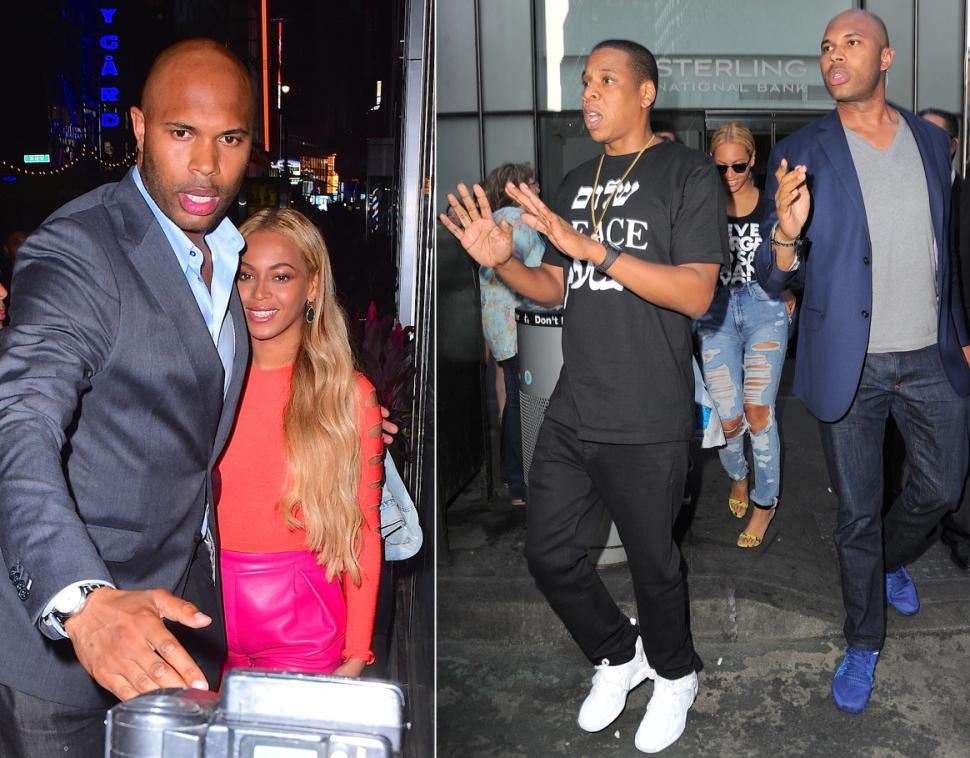 If there's any bodyguard that wins for being as good looking as he is good at his job, it goes to Beyonce's bodyguard Julius de Boer. The famed guard has been protecting Queen Bey since 2008 accompanying her from small trips to the airport to major events like the Vanity Fair Oscar's afterparty. When things get too crazy, Jay-Z sometimes steps in as a second guard too!