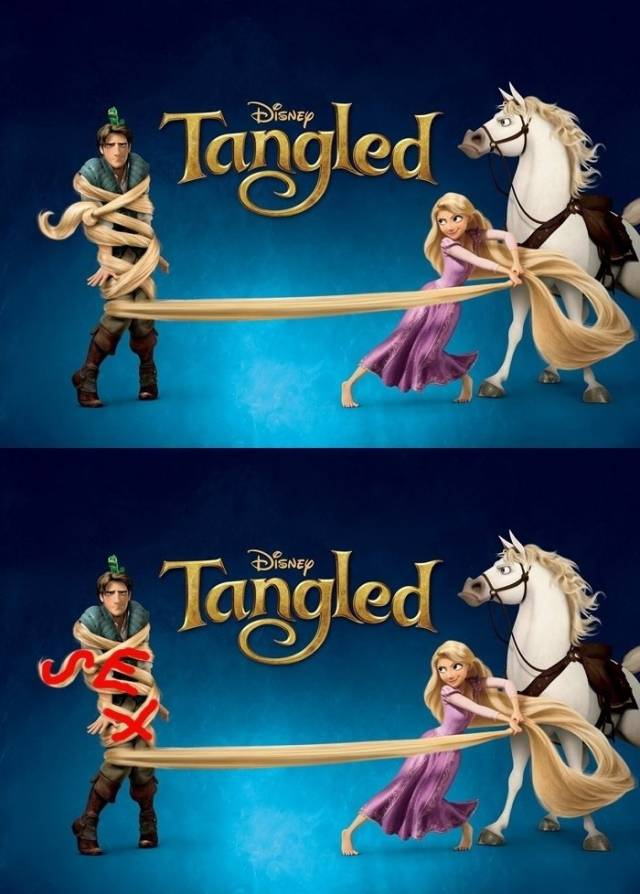 Sexual innuendos in Disney movies - Wow Amazing