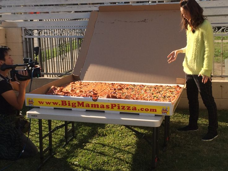 The Giant Sicilian featured in an upcoming show in Japan called World Number 1! #BMPP www.bigmamaspizza.com/locations/