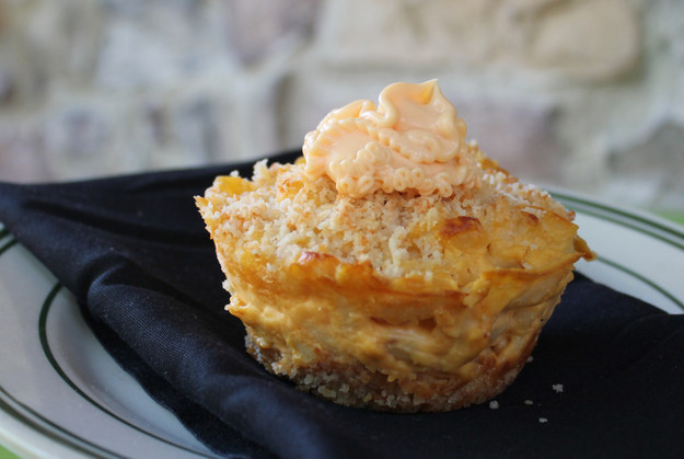 Mac & Cheese Cupcake