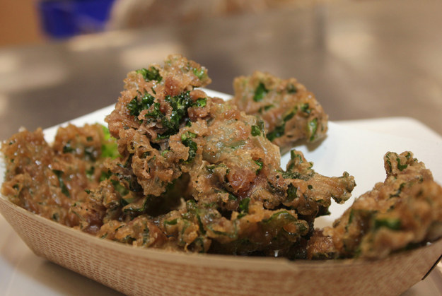 Wine-Fried Kalettes