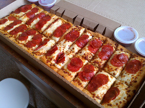 Pizza Strips