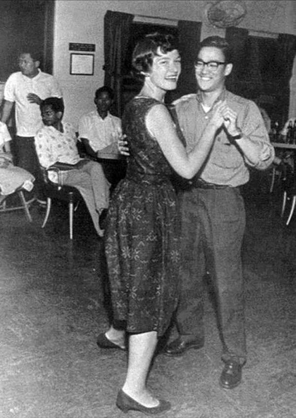 Bruce Lee on the dance floor.
