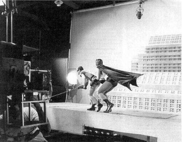 The making of Batman (1966).