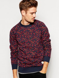 Jack Wills Amberhurst Sweatshirt With Floral Print