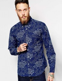 Gant Rugger Shirt With Floral Print
