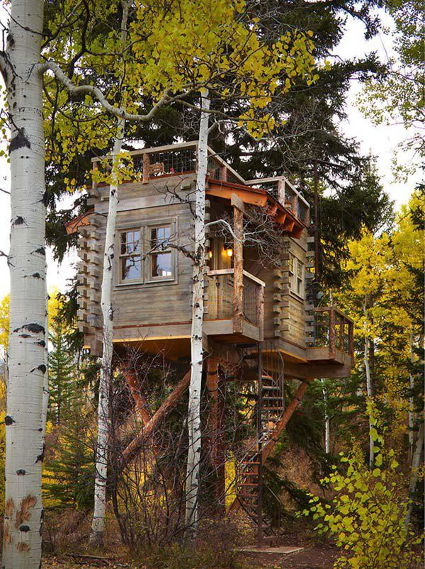 incredible tree houses treehouses 10 Live off the grid in a treehouse of your dreams (30 Photos)