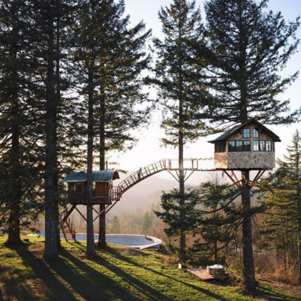 incredible tree houses treehouses 29 Live off the grid in a treehouse of your dreams (30 Photos)