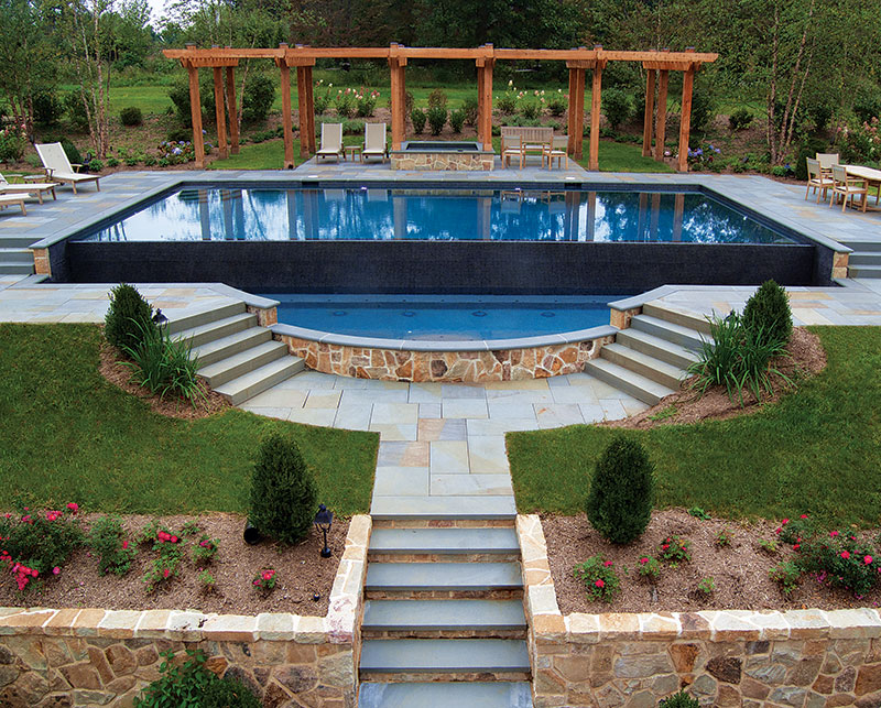 Top designer pools and spas part 3 wow amazing for Infinity pool design uk