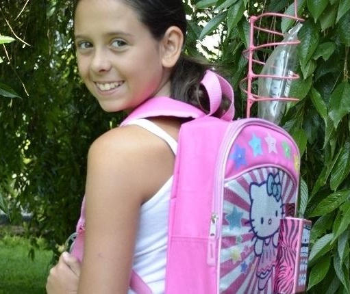"11-Year-Old Girl Invents ""Chemo Backpack"" to Help Cancer Patients ... 403e0c6ac4bc4"