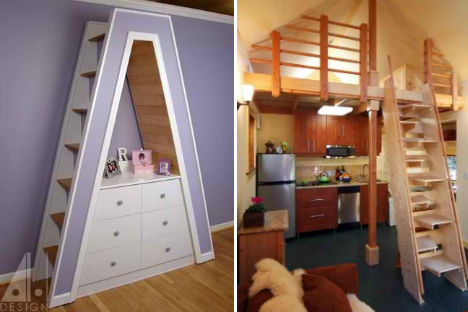 12 unique space saving solutions for your tiny house wow amazing. Black Bedroom Furniture Sets. Home Design Ideas