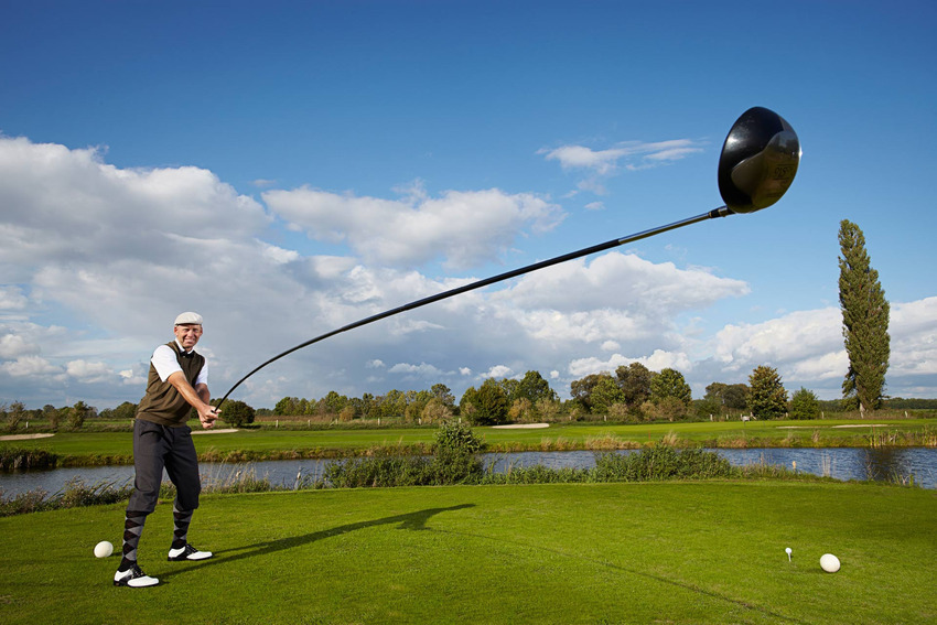 10. Longest Golf Club - Karsten Maas