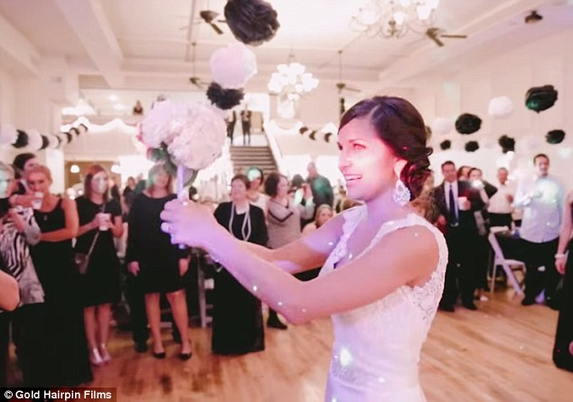 bride helps proposal during wedding reception � wow amazing
