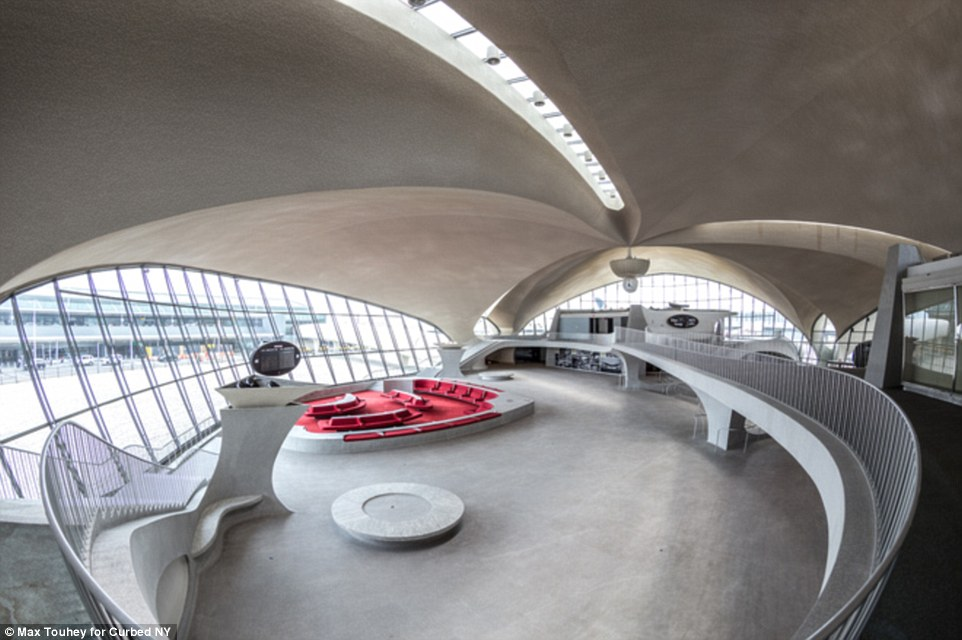 The lid has been temporarily lifted on the preserved TWA Terminal at JFK, with fascinating images by photographer Max Touhey transporting you back to what travellers would have experienced in 1962, as reported by Curbed