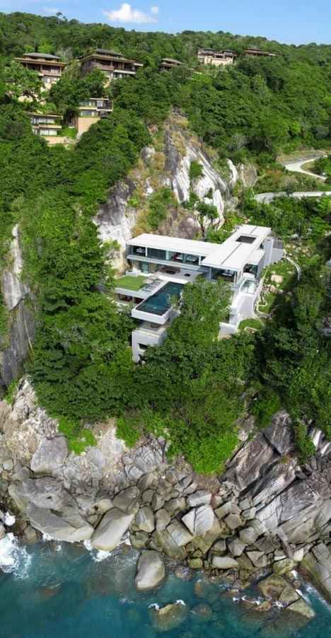 . Luxurious Cliff Side Homes Taking Living to New Heights   Wow Amazing