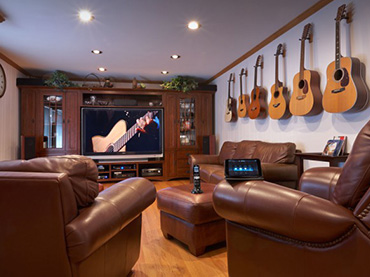 These are probably the most epic entertainment room for Cool house music