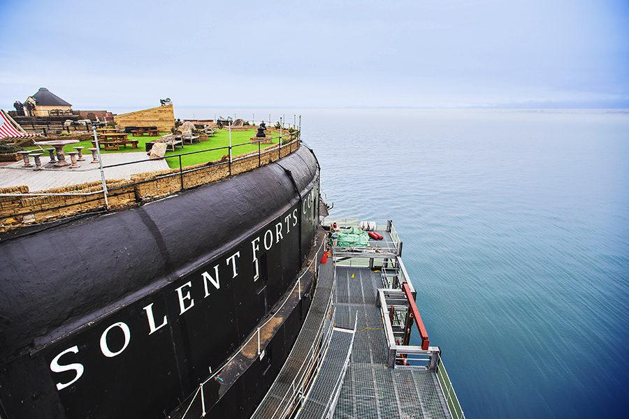 Photos: Abandoned, rotting sea forts turned luxury getaways