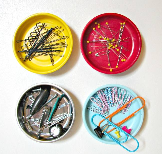 Magnetic dishes