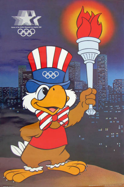 Sam the Olympic Eagle is the first thing that pops into your head, when anyone mentions the 1984 Summer Olympics.