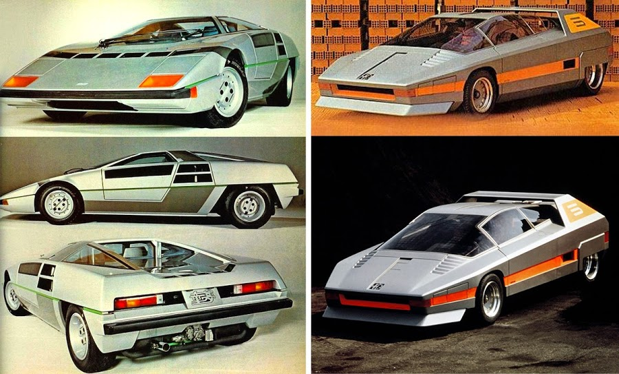 Bizarre and Futuristic Concept Cars of the 70s and the 80s – Wow Amazing