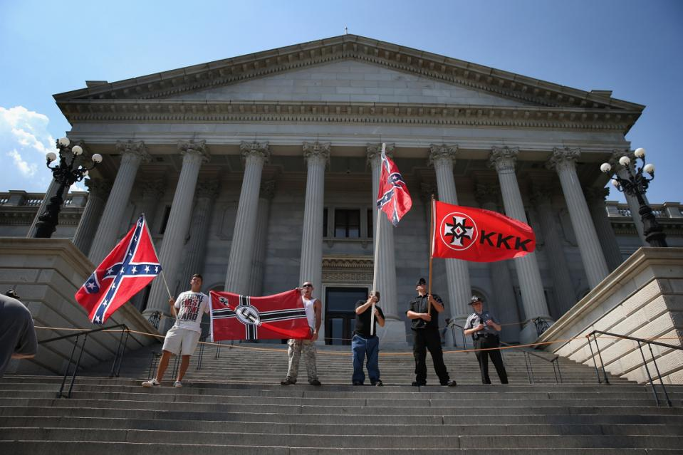 Ku Klux Klan Holds Rally Outside South Carolina Statehouse