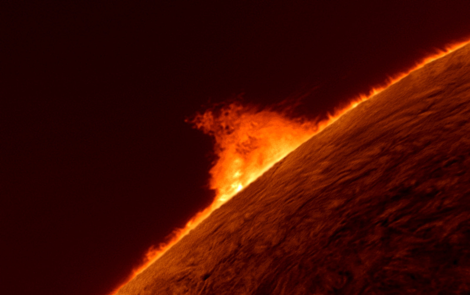 "8. ""Solar Prominence"", by Gary Palmer, UK"