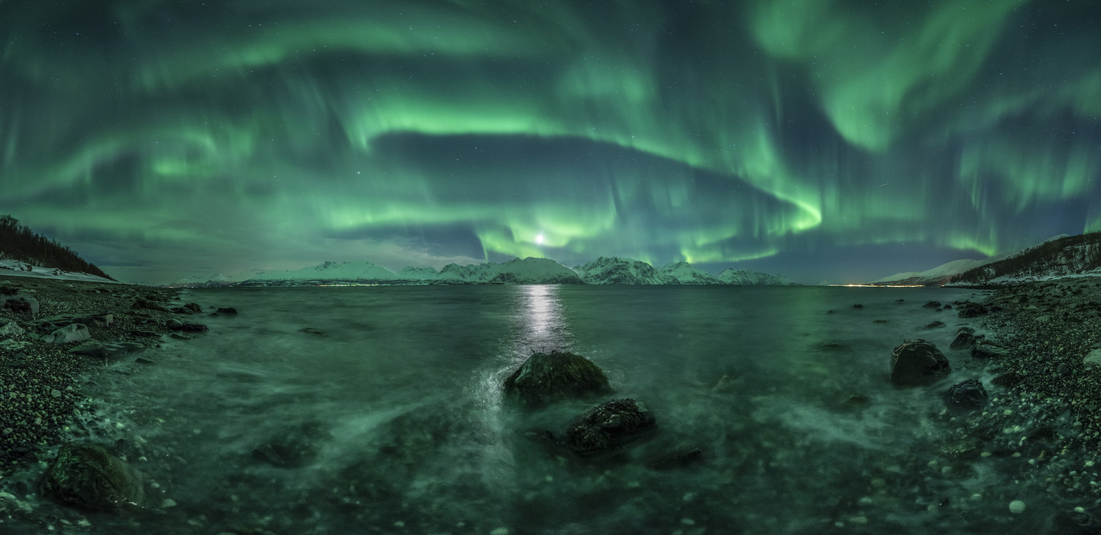 "2. ""Aurora Panorama"", by Jan R. Olsen, Norway"