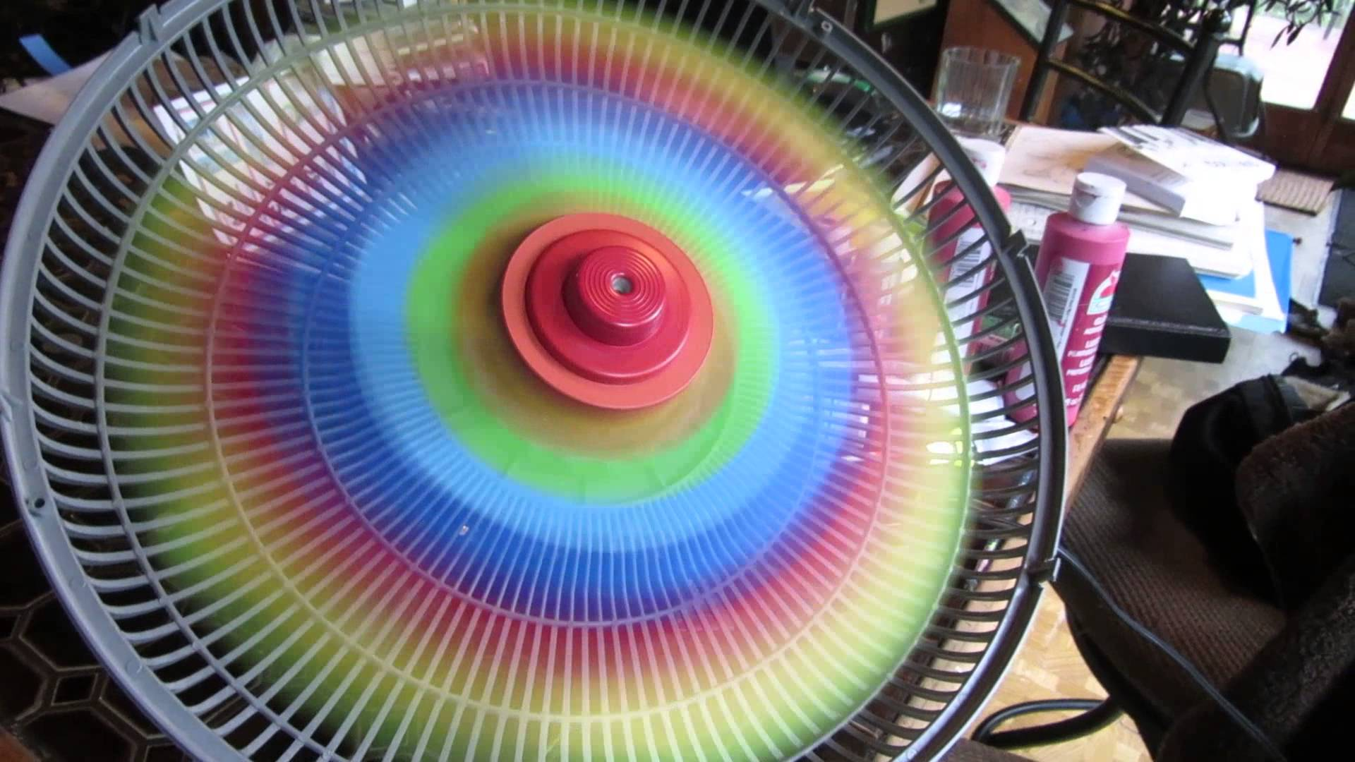 Diy Rainbow Fan That Will Brighten Up Any Room Wow Amazing