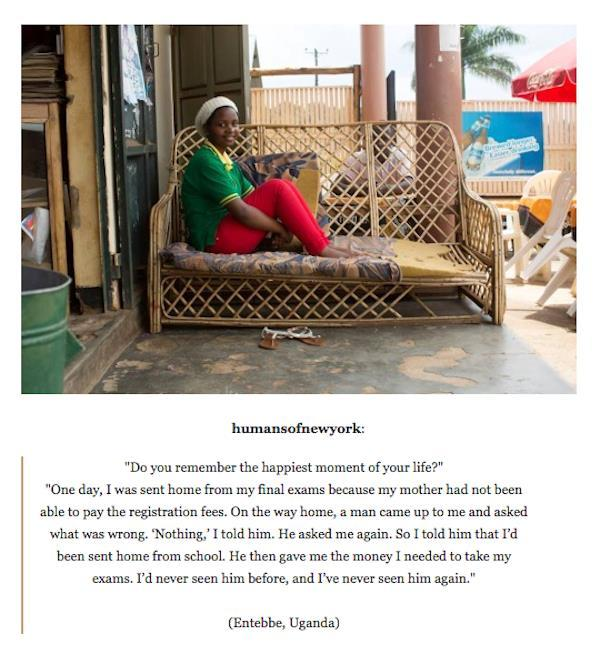 Restore Your Faith In Humanity Humans Of New York