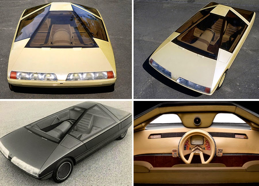 bizarre and futuristic concept cars of the 70s and the 80s wow amazing. Black Bedroom Furniture Sets. Home Design Ideas