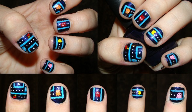 These Nail Art Ideas Will Bring Out Your Inner Nerd, but they are ...