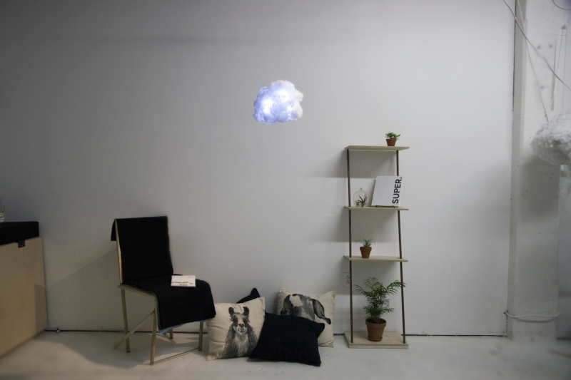 Lighting Storm Cloud Lamp