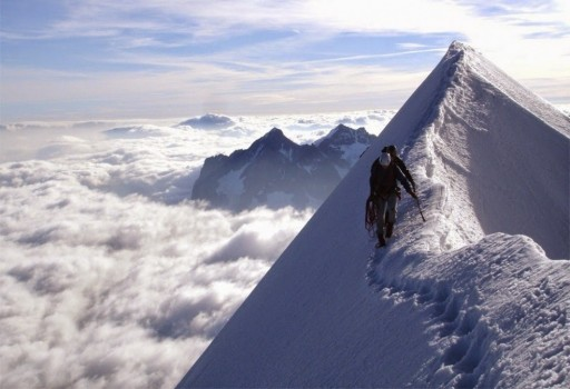 #2. On the border of Switzerland - In These Award Winning Photographs You FEEL The Power Of The Mountains.