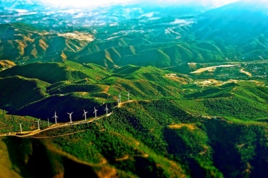 #20. Windmills on the mountains of Spain - In These Award Winning Photographs You FEEL The Power Of The Mountains.