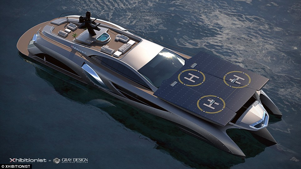 Is it a boat, is it a car? No, it's a megayacht. The supercar designer's megaboat costs more than £16 million