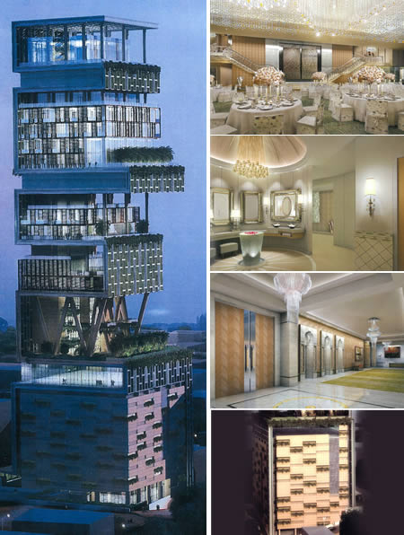 Antilla, Mumbai - The first Billion dollar home