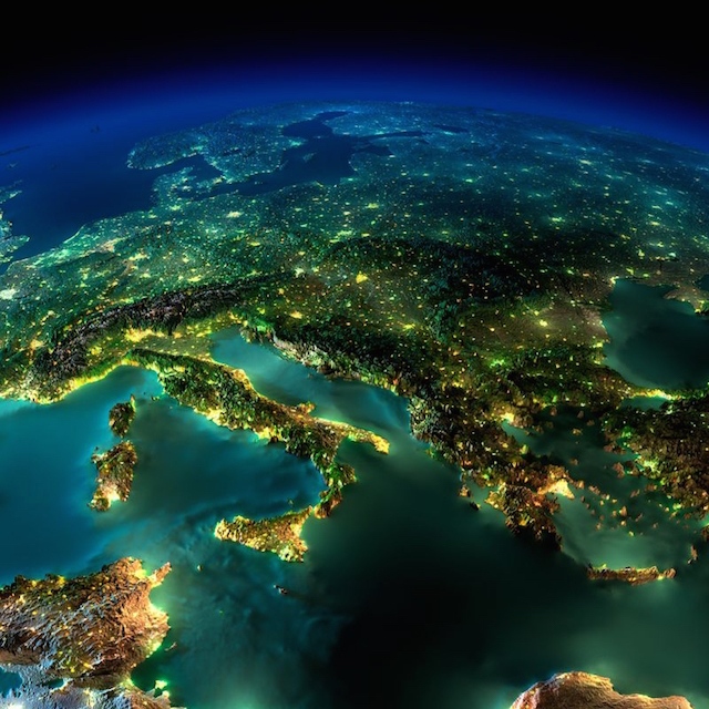 25 Incredible Images of Earth at Night Captured from Space