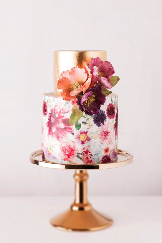 15 Beautiful Spring Wedding Cake Designs