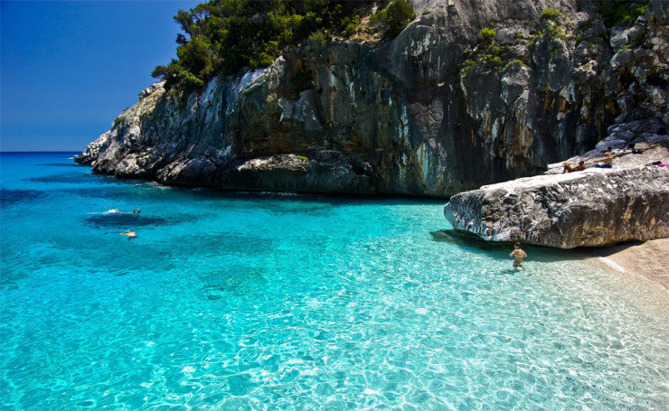 Top 10 Clearest Waters-Sardinia
