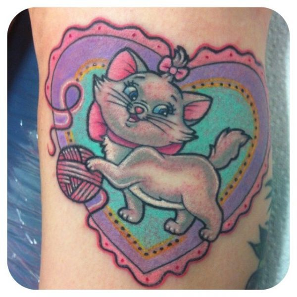 aristocat disney tattoos