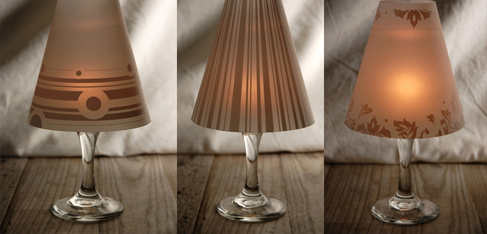 Diy how to make wine glass candle lamps wow amazing aloadofball Gallery