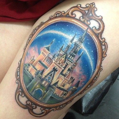 castle disney tattoos