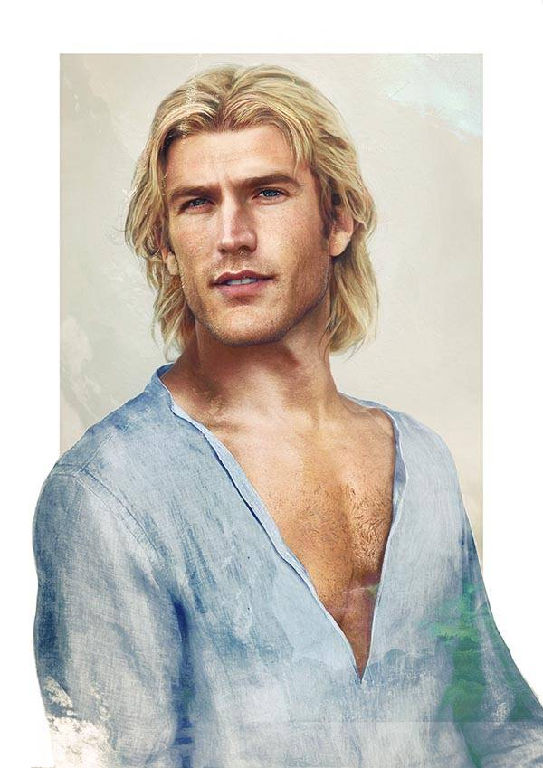 realistic disney guy John Smith from Pocahontas